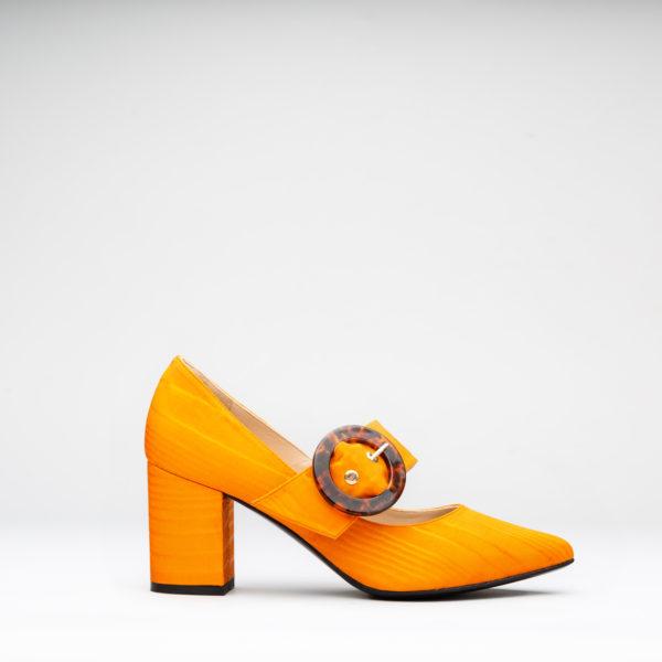 41d2c7fddb6 Zapatos de vestir de tacón ancho colection 18/19